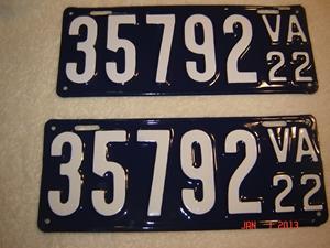 Picture of 1922 Virginia Car Pair  #35792