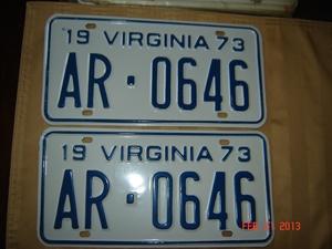 Picture of 1973 Virginia Car Pair #AR-0646