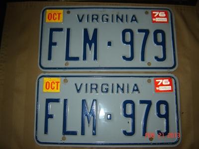 Picture of 1976 Virginia Car Pair #FLM-979
