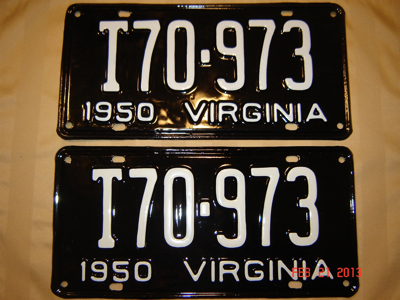 Picture of 1950 Virginia Truck Pair #T70-973