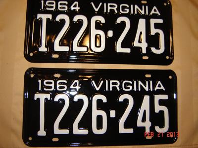 Picture of 1964 Virginia Truck Pair #T226-245