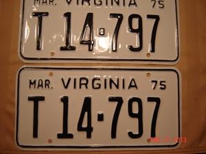 Picture of 1975 Virginia Truck Pair #T14-797