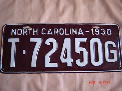 Picture of 1930 North Carolina Truck #T72450G