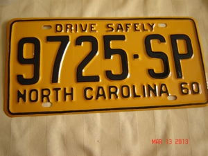 Picture of 1960 North Carolina Truck #9725-SP