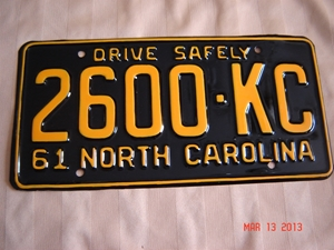 Picture of 1961 North Carolina Truck #2600-KC