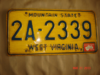 Picture of 1972 West Virginia Car #2A-2339