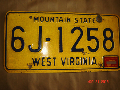 Picture of 1975 West Virginia Car #6J-1258