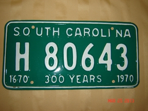 Picture of 1970 South Carolina Truck #H80643