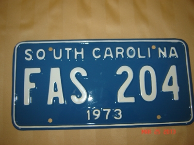 Picture of 1973 South Carolina Car #FAS204