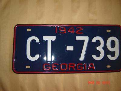 Picture of 1942 Georgia #CT-739