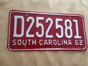 Picture of 1962 South Carolina Car #D252581