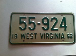 Picture of 1962 West Virginia Car #55-924