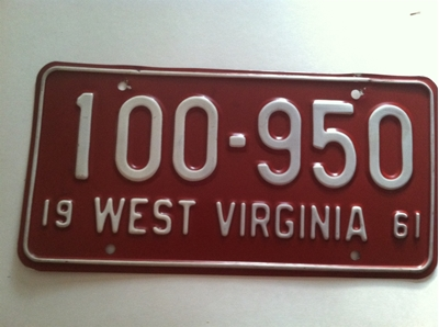 Picture of 1961 West Virginia Car #100-950