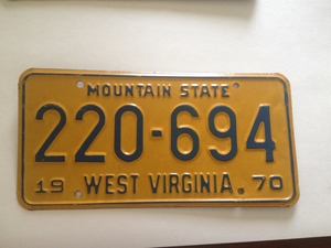 Picture of 1970 West Virginia Car #220-694