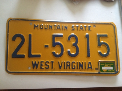 Picture of 1976 West Virginia Car #6J-1258