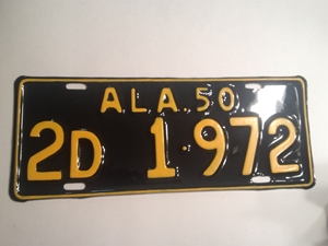 Picture of 1950 Alabama #2D1-972