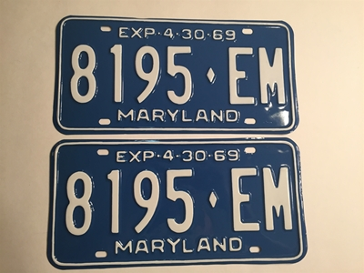 Picture of 1969 Maryland Truck Pair #8195-EM