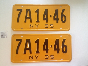 Picture of 1935 New York Pair #7A 14-46