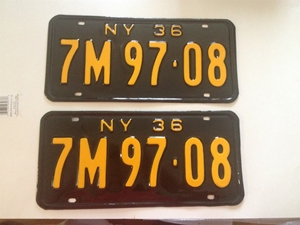 Picture of 1936 New York Pair #7M 97-08