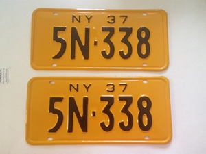 Picture of 1937 New York Pair #5N-338