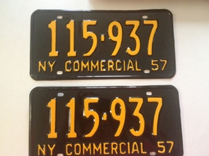 Picture of 1957 New York Pair #115-937