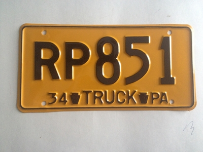 Picture of 1934 Pennsylvania Truck #RP851