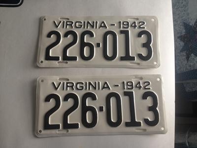 Picture of 1942 Virginia Car Pair #226-113