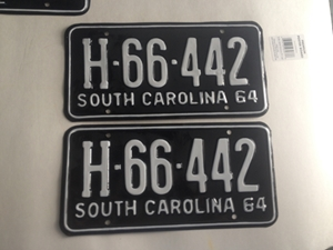 Picture of 1964 South Carolina Truck Pair#H66-442
