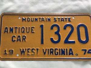 Picture of 1974 West Virginia #1320 antique car