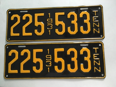 Picture of 1931 Tennessee Car Pair #225-533