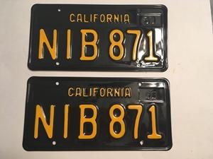 Picture of 1963 California Pair #NIB-871