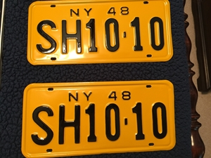 Picture of 1948 New York  Pair #SH10-10