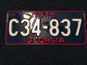 Picture of 1942 Georgia #C34837