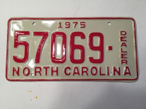 Picture of 1975 North Carolina Dealer #57069