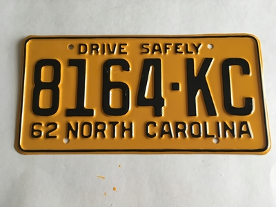 Picture of 1962 North Carolina Truck #8164-KC