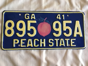 Picture of 1941 Georgia #895-95A