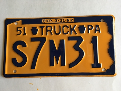 Picture of 1951 Pennsylvania Truck #S7M31