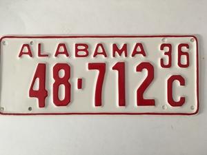 Picture of 1936 Alabama Car #48-712C