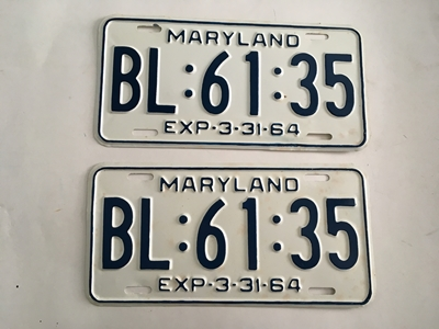 Picture of 1964 Maryland Car Pair #BL 61-35