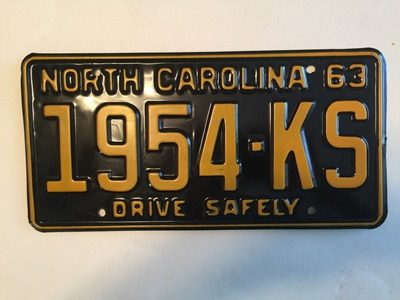 Picture of 1963  North Carolina Truck #1954-KS