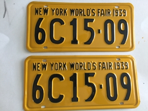Picture of 1939 New York Pair #6C15-09