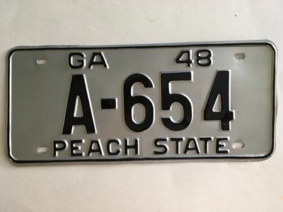 Picture of 1948 Georgia #A-654