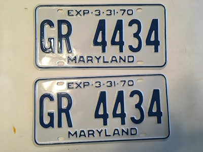 Picture of 1970 Maryland Car Pair #GR4434