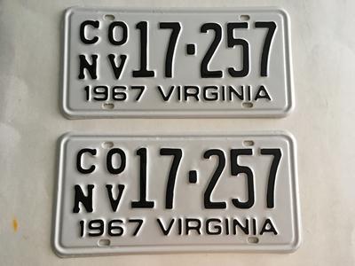 Picture of 1967 Virginia Car Pair #CONV17-257