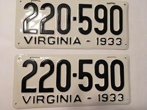 Picture of 1933 Virginia Car Pair #220-590
