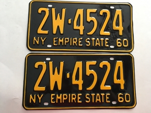 Picture of 1960 New York Pair #2W-4524