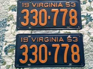Picture of 1953 Virginia Car Pair #330-778