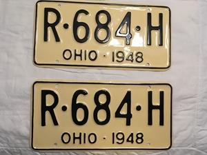 Picture of 1948 Ohio Pair #R-684-H