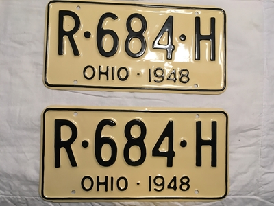 Picture of 1948 Ohio Pair #R-684-H