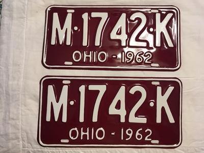Picture of 1962 Ohio Pair #M-1742-K